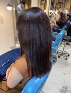 髪質改善と縮毛矯正