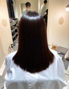 髪質改善ではなく縮毛矯正