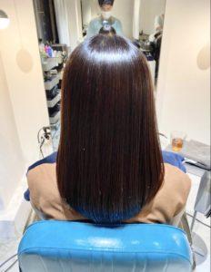 美髪縮毛矯正で髪質改善