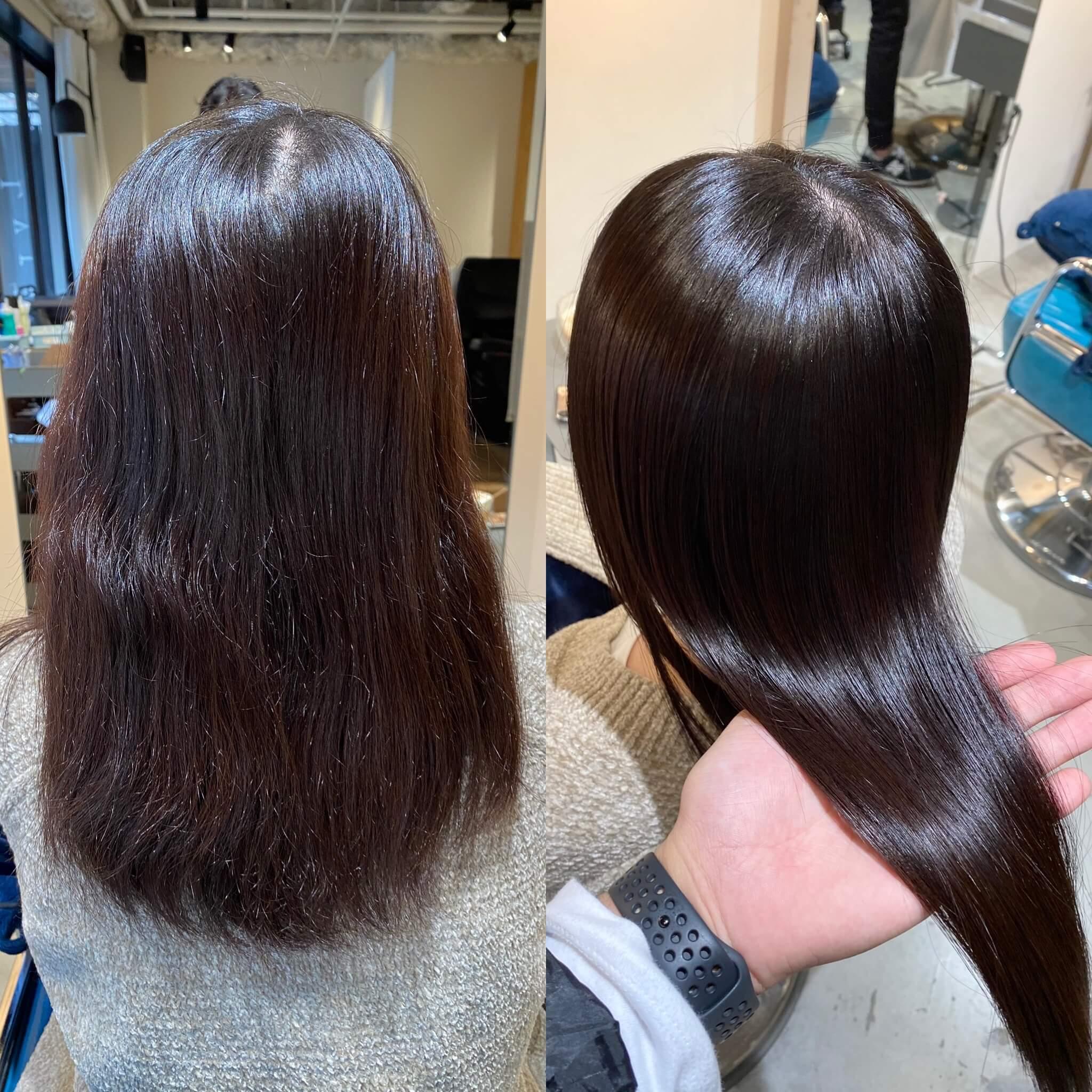 大阪縮毛矯正特化美容師