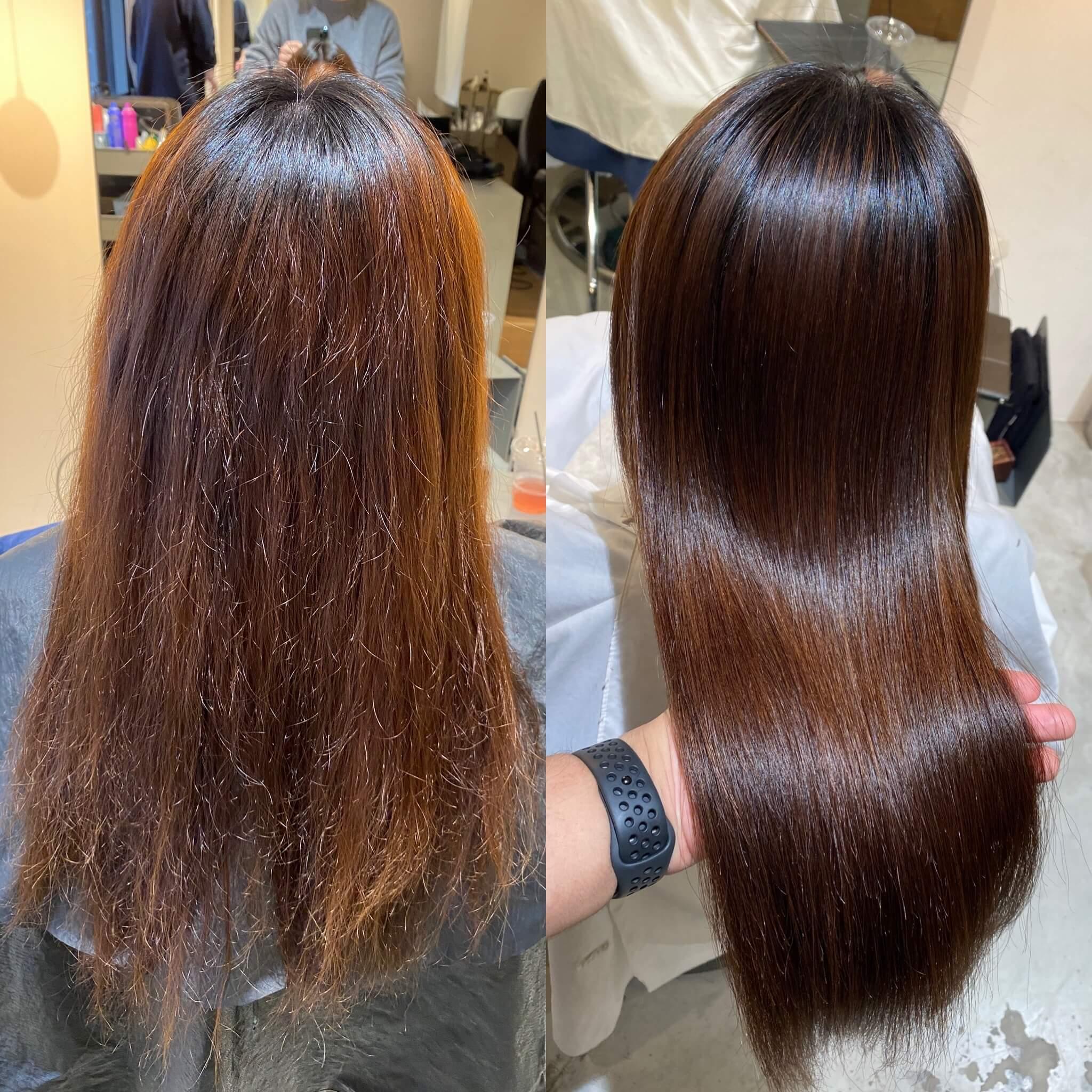 関西美髪縮毛矯正特化美容師