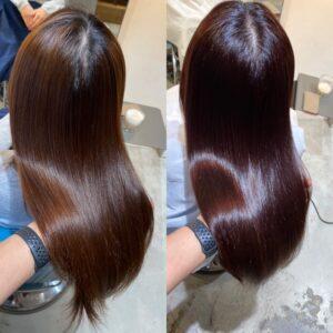 大阪縮毛矯正髪質改善ヘアエステ専門美容師